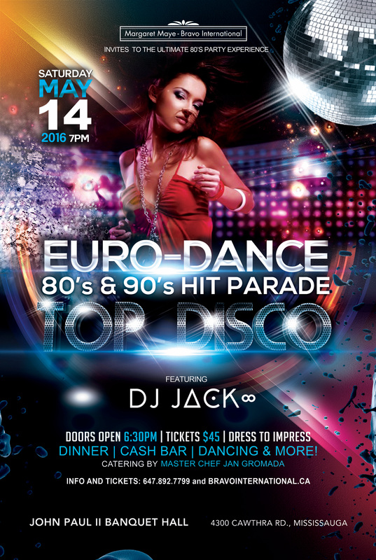 The Best Dance Music From 80s 90s To Win Prices Dont Forget DRESS TO IMPRESS Were Extending An Invitation All Fans Of EURO POP
